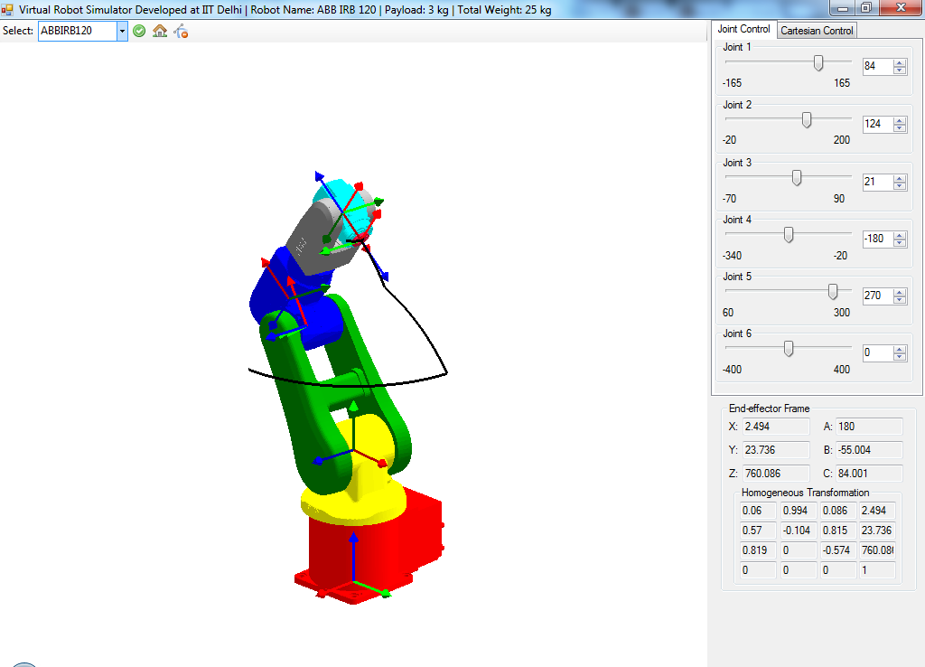 RoboAnalyzer - RoboAnalyzer: 3D Model Based Robotics